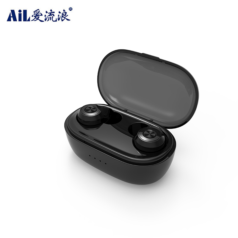TG903 Touch Control Bluetooth Headset Wireless Tws Headphone with 500mAh Charging Case